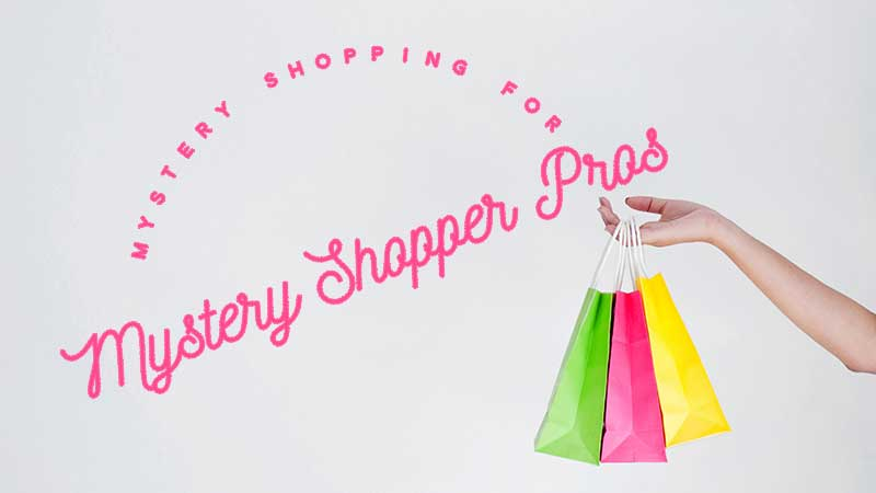 Mystery Shopping For Mystery Shopper Pros Mystery Shoppers Manual